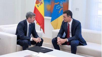 Clavijo exige reunirse con Sánchez 'donde sea' para que se firmen los convenios pendientes