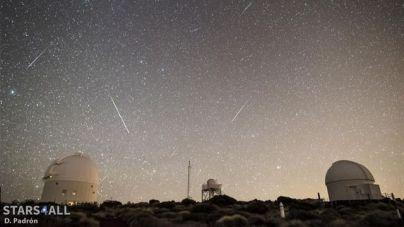 El Observatorio del Teide retransmitirá en directo la lluvia de las Cuadrántidas