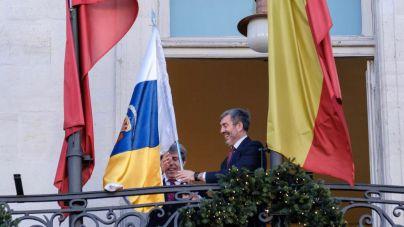 Cuenta atrás de las 'Campanadas Canarias' en la Puerta del Sol