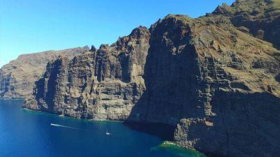 Se reforzará la protección medioambiental del acantilado de Los Gigantes
