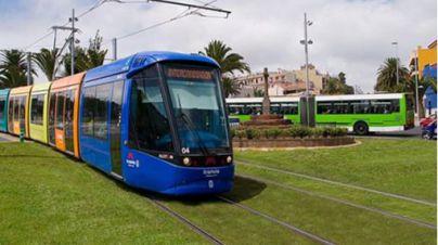 El Tranvía circulará con servivios mínimos del 75% la víspera de Reyes