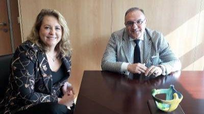 Sanidad y la Fundación Luzón continúan colaborando para mejorar la calidad de vida del paciente con ELA