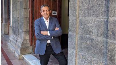 Sebastián Martín, único concejal presente en el juicio contra el tendido eléctrico