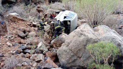 Accidentes de tráfico en la Vera de Erques y en Vía de Ronda