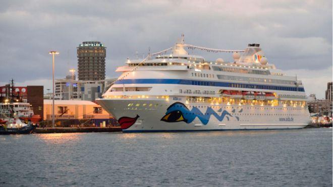 Siete cruceros animan el fin de semana de rebajas en Las Palmas de Gran Canaria