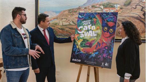 `La Jungla´ del Carnaval de Los Cristianos 2019 ya cuenta con cartel anunciador