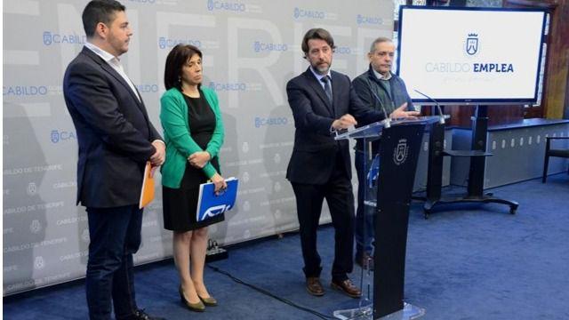 Tenerife lidera la creación de empleo en Canarias en 2018 con más de 375.000 contratos
