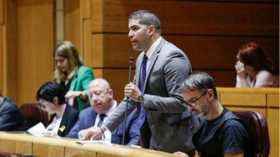 Rodríguez Cejas demanda en el Senado la ampliación horaria del aeropuerto de El Hierro