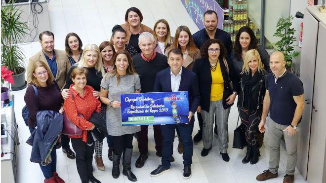 El Ayuntamiento entrega a trece ONG la recaudación del espectáculo de los Reyes