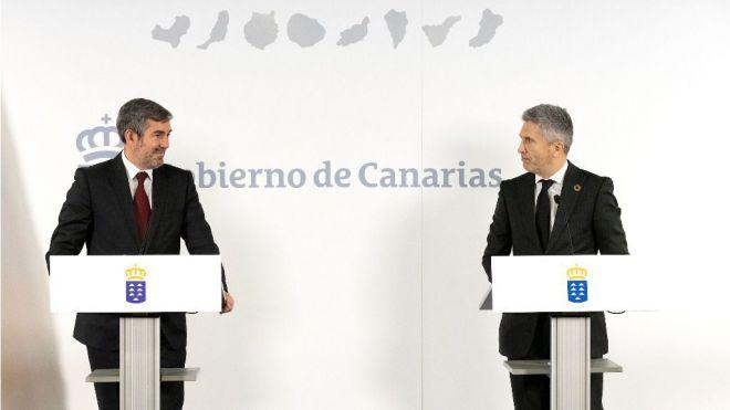 Canarias y Estado retoman los compromisos en materia de seguridad tras ocho años
