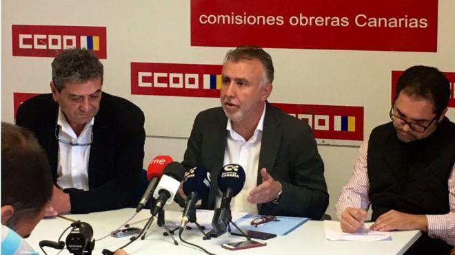 UGT y CCOO apoyan el proyecto de Presupuestos del PSOE