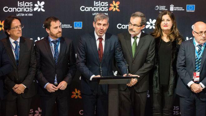 Clavijo pide 'más trabajo conjunto' con el Gobierno para mejorar las previsiones turísticas