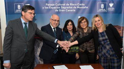 Risco Caído recibe el respaldo de los parlamentos de Extremadura, Asturias, Murcia y Canarias
