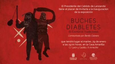 La Casa Amarilla inaugura mañana la exposición 'Buches y Diabletes'