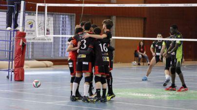 El Club Voleibol San Roque - Batán escala hasta la segunda posición