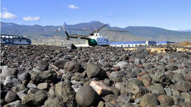 Intervienen tres fardos de hachís con 97 kilos en la costa del sur de Tenerife