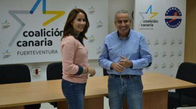 Lola García, elegida por unanimidad candidata de AM-CC a la presidencia del Cabildo de Fuerteventura