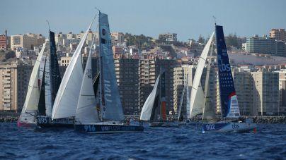 La Mini Transat comienza a promocionar su edición 2019 con escala en Las Palmas de Gran Canaria