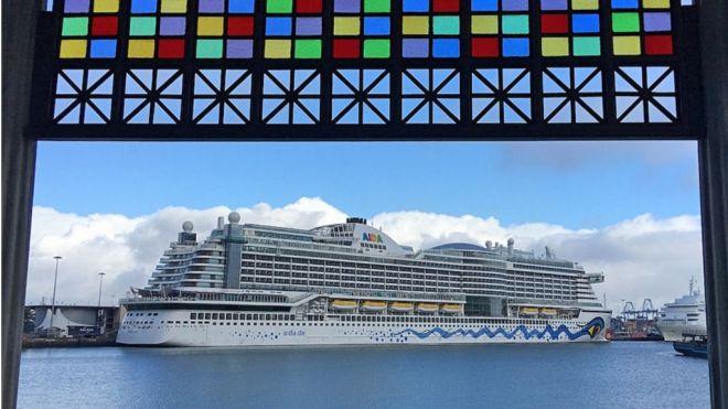 Las Palmas de Gran Canaria recibe a seis cruceros el fin de semana