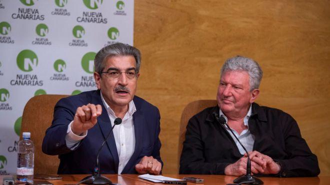 """Rodríguez mantiene que Canarias """"en absoluto"""" tiene garantizados los créditos de los PGE de 2018"""