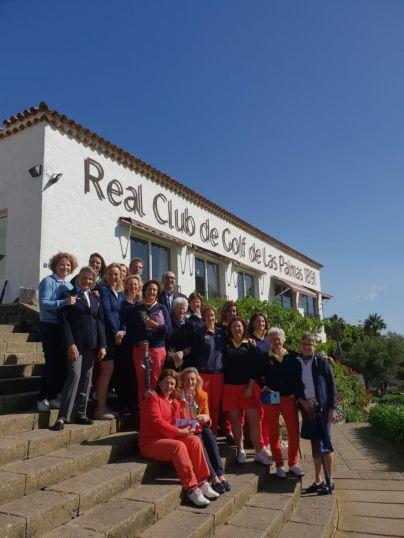 El Equipo de España gana al Europeo, en el Real Club de Golf de Las Palmas