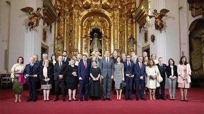 Los Reyes de España entregan las Medallas de Oro al Mérito a las Bellas Artes 2017 a personalidades de la Cultura