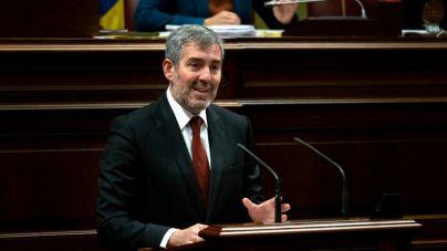 Clavijo ataca a los partidos que critican el superávit canario y no temen una nueva crisis