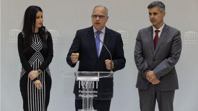 """Curbelo: """"Es una pena que los avances de Canarias se vean enturbiados por el paro, la pobreza y las listas de espera"""""""