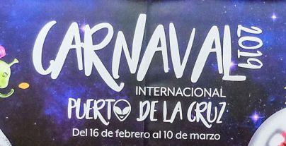 El Carnaval Internacional de Puerto de la Cruz conquista el 'espacio exterior'