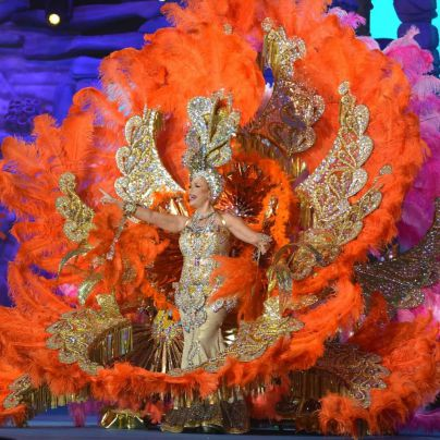 Antonia Garrido Francés, nueva Reina de los Mayores del Carnaval de Santa Cruz