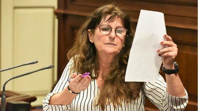 Podemos se opone al 'doblete' Parlamento/Cabildo