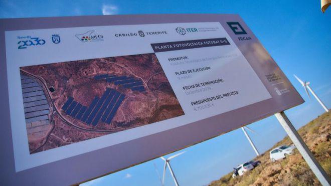 El Cabildo construye una planta fotovoltaica de 5+5 MW