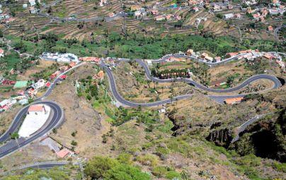 Se inicia este miércoles los trabajos de mejora del acceso a Valle Gran Rey