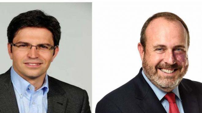 Ruymán Santana y Enrique Arriaga, candidatos de Cs al Cabildo de Gran Canaria y Tenerife respectivamente