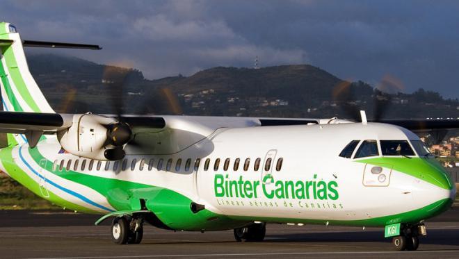 Binter ofrece ocho vuelos entre Gran Canaria y Tenerife Sur