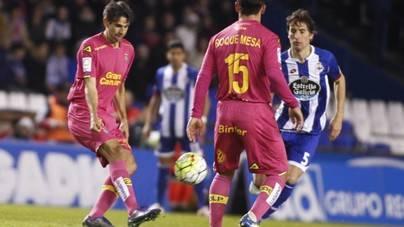 Gran partido de Las Palmas en Riazor