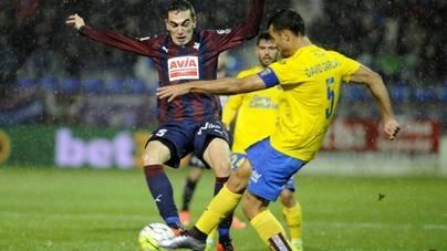 Las Palmas suma 3 puntos en casa del Eibar