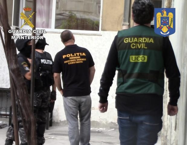 La Guardia Civil desarticula una organización especializada en robos con fuerza en joyerías