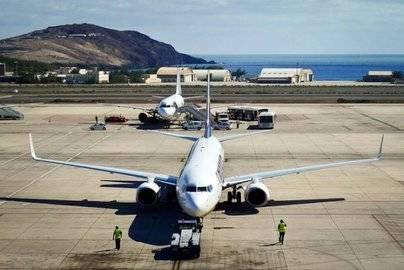 Crece un 10,7% el tráfico en el espacio aéreo canario