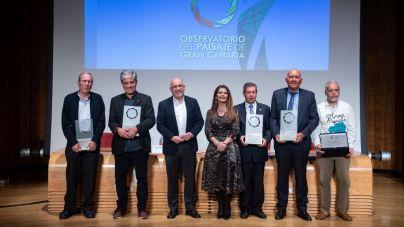 El Cabildo entregó sus reconocimientos en as IV Jornadas del Paisaje de Gran Canaria