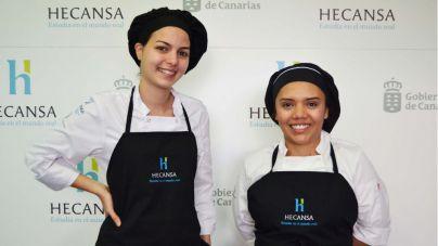 Dos alumnas de Hecansa participan en la final del concurso de escuelas de cocina Protur Chef 2019