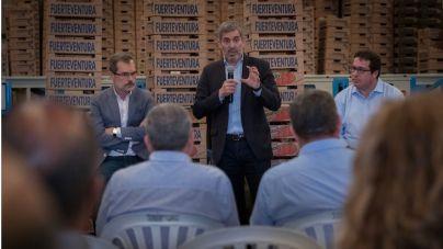 Clavijo seguirá luchando para que la incertidumbre en Europa no afecte a los avances en el sector primario