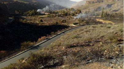 Controlado el incendio de Fataga
