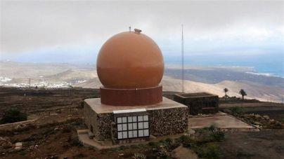 ENAIRE instala un nuevo radar en la isla de Lanzarote para dar cobertura a los vuelos del noreste de Canarias
