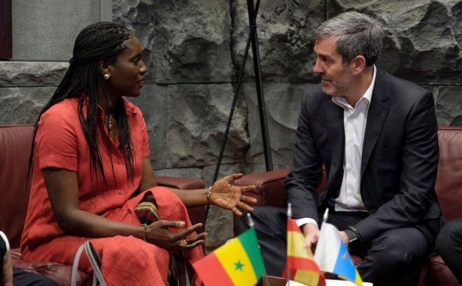 Senegal abre la puerta a las empresas canarias para participar en el desarrollo de infraestructuras