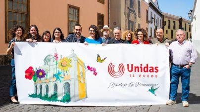 Unidas se puede presenta la candidatura con la que espera gobernar La Laguna en mayo