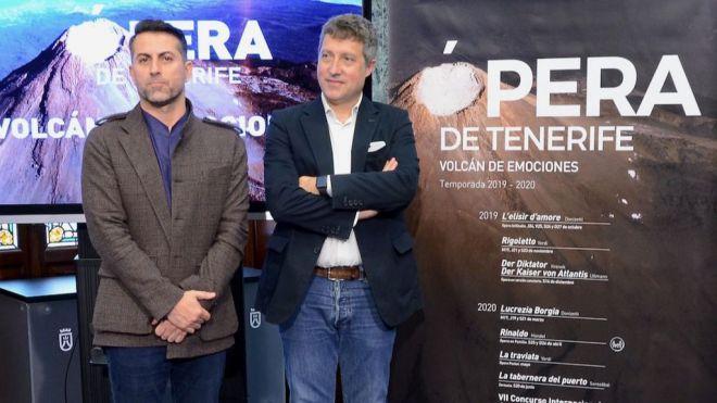 """Nueva temporada de Ópera de Tenerife como """"un volcán de emociones"""""""