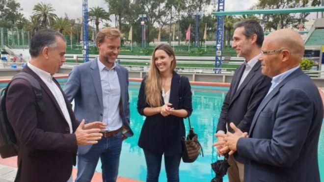 """María Fernández pide """"un compromiso del Estado para igualar a los deportistas canarios con los de la Península"""""""