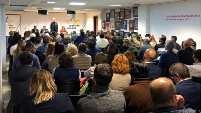 CC Tenerife ratifica por unanimidad las listas electorales al Parlamento, Cabildo y municipios