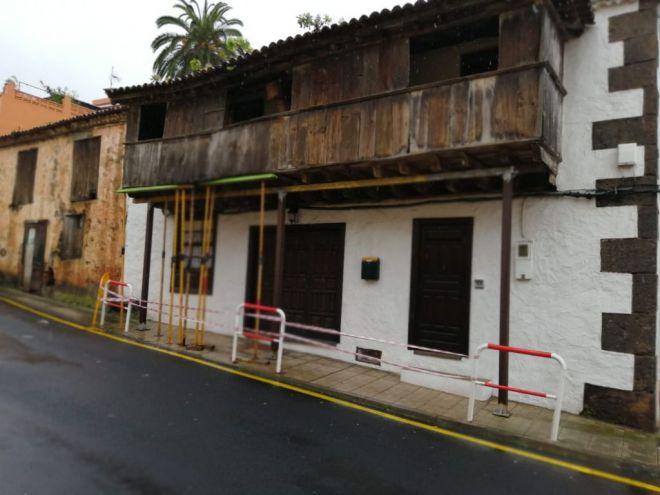 El PSOE culpa a CC por su pasividad en el deterioro y la destrucción del patrimonio de Tacoronte